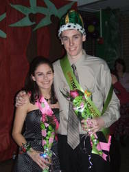 Highlight for Album: Dublin Coffman High School Sweethearts Dance