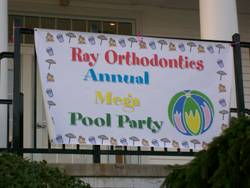 Highlight for Album: Ray Orthodontics Annual Mega Pool Party